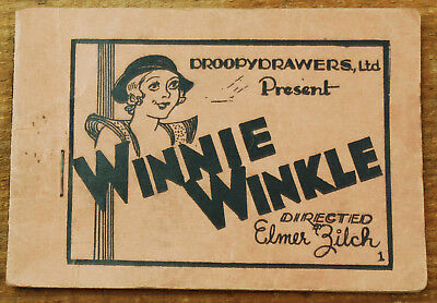 1930's Tijuana Bible - Winnie Winkle Directed by Elmer Zilch Risque 8page Comic