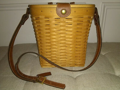 Longaberger Country Estates Saddlebrook Purse