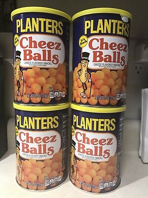 Planters Cheez Balls LOT OF 4 2.75oz Cheese Balls 2018 Release IN HAND FAST SHIP