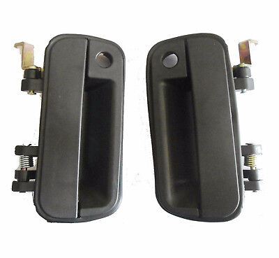 For 90-94 Hyundai Excel Outside Exterior Door Handle Front Left Right Side 2PCS