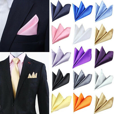 c2b63b1bcca6 Men's Suit Pocket Square Silk Handkerchiefs Hanky Formal Meeting Wedding  Decor