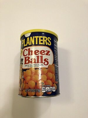 RARE Planters Cheez Balls Sealed Limited Edition 2018
