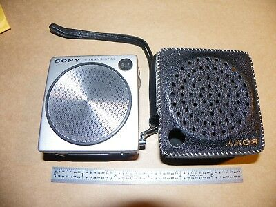 Vintage Sony Miniature 8 Transistor Pocket Radio - Rare Model 2R-21