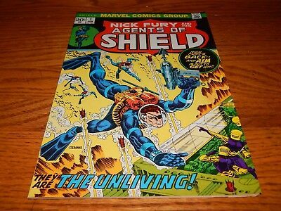 KEY Bronze Age Comic Nick Fury & His Agents Of Shield # 1 FN Condition