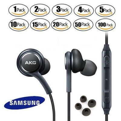 OEM Samsung S9 S8+ Note 8 AKG Earphones Headphones Headset Ear Buds EO-IG955 Lot