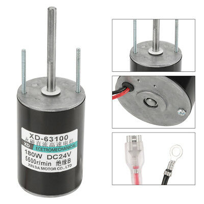 150W Hochleistungs Bürstenmotor High Speed Brush DC Motor CW/CCW  (24V 5500rpm)
