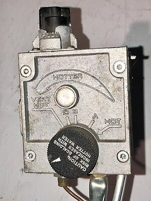 White Rodgers 37C73U-622 Hot Water Heater Therm. + Burner & Supply Tube (Used)