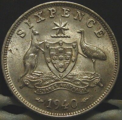 1940 6d.aEF(LotE716616)Free Postage
