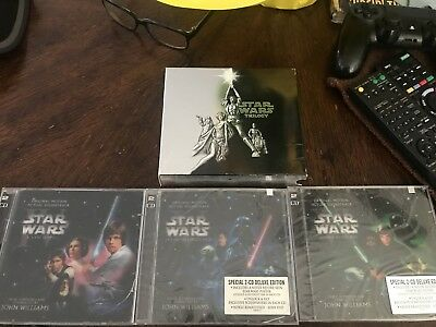 Star Wars Trilogy Special Edition Soundtrack CD Boxset John Williams OOP
