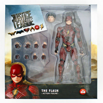 DC Comics Justice League The Flash Mafex No.058 Medicom Action Figure Collection