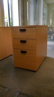 3 Draw Project Desk Unit Office Draws