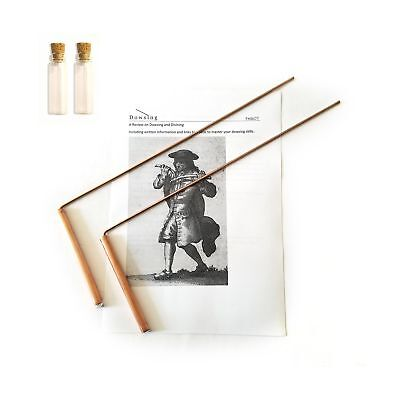 Dowsing Rod Copper -Solid Material 99% - Ghost Hunting, Divining Water, Gold