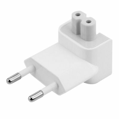 Europe EU AC Power Wall Plug Converter Head For MacBook Pro Air Charger Adapter