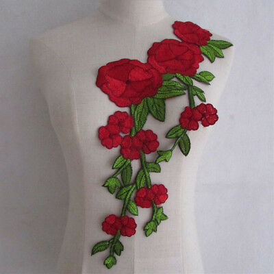 NEW Flower Lace Collar - Embroidered Applique Neck Trim YL904