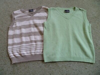 Two Boys Next sleeveless jumper tank tops Age 1-2 years 92cms