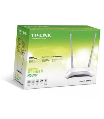 TP-Link 300Mbps Wireless N Router TL-WR840N Modem NBN Ready