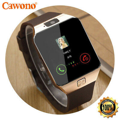 Bluetooth Smart Watch w/Camera Waterproof Phone Mate for Android Phones For Man