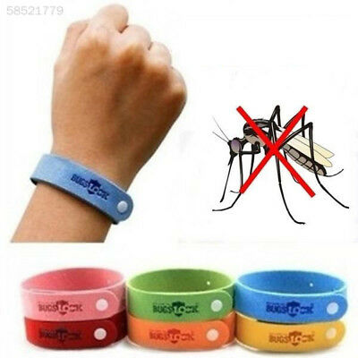 428F 5pcs Children Adult Anti Mosquito Bug Repellent Wrist Band Insect Nets