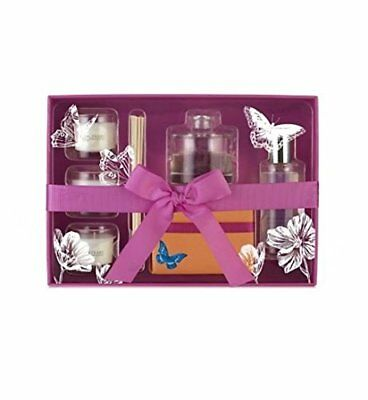 Sanctuary Spa Home is where the Heart Candles Room Mist Reed Diffuser Gift Set