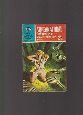 Badger Supernatural Stories No.39 featuring Voodoo Drums by Trebor Thorpe