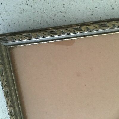 Frame - Antique Timber Frame - Convex Glass - 9.5 X 7.5 Inches