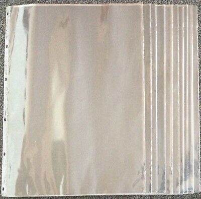 7 Seven A2 Plastic Sleeves, Pouches, Pockets with Black Inerts