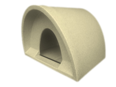 This Week £44 Outdoor Cat Shelter / Kennel Cat House Plastic Cat Igloo