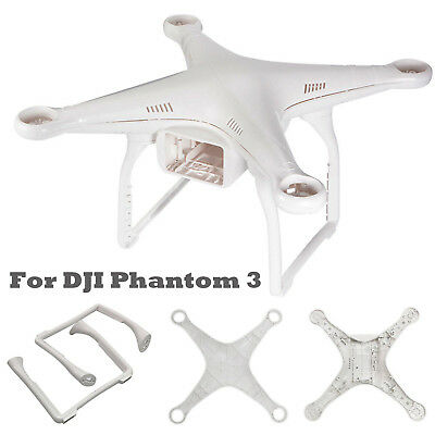 Body Shell Cover Case Landing Gear Decal Replacement for DJI Phantom 3 Pro/Adv