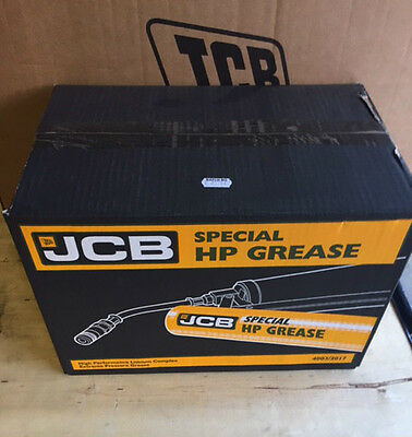 24X Jcb Special Hp Grease Lithium Complex 400G Tube Blue