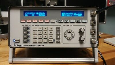 Beautiful Ramsey COM3010 Communications Service Monitor  in excellent condition