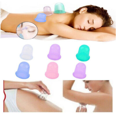 Large Vacuum Silicone Cup Anti Cellulite Cupping Massage Medical Full Body DIY