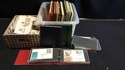 Wholesale Job Lot Of Approx 13.kg Mixed WORLD/UK Stamps + First Day Covers (BC)
