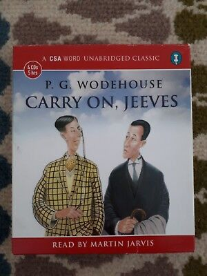 Audiobook: P G Wodehouse - Carry On, Jeeves - Read by Martin Jarvis - Unabridged
