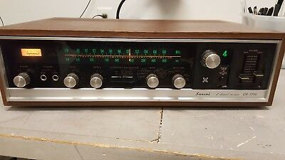Sansui QR-1500 4 Channel Receiver Tested and Working