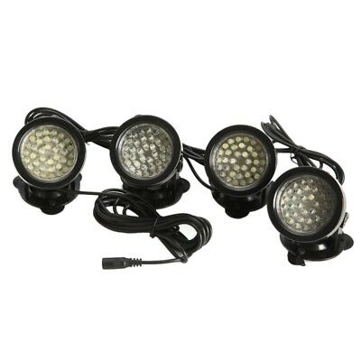 4x 36-LED/light Bright Spotlight Underwater Submersible for Garden Fountain P EL