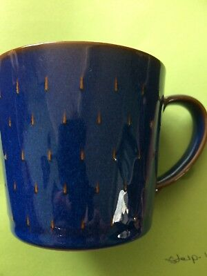 Denby Imperial Blue Mugs. Set of 6. Unused condition no chips or cracks