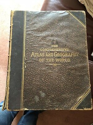 The Comprehensive Atlas And Geography Of The World By W.G.BLACKIE