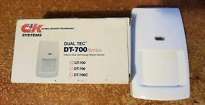 DUAL TEC DT-700 MOTION SENSOR FOR ALARM SYSTEMS by C&K Systems