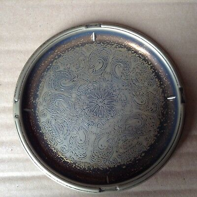 "falstaff 4 3/4"" silver plated dish"