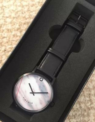 Brand New In Box Black Marble Circulr Men's Watch - Sold Out Online!