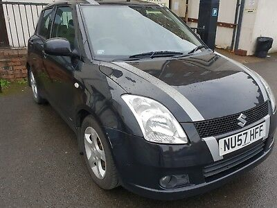 Black metallic Suzuki Swift 1.5 2007