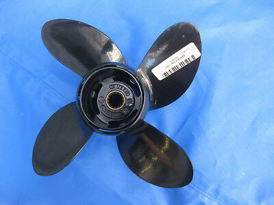 Propeller ,4- Blatt, Originalteil, 10,5x14, für Johnson, Evinrude 20,25,30,35 Ps