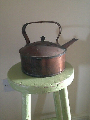 Vintage copper kettle with great patina