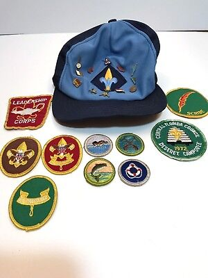 Vintage Boy Scouts Of America Patch and Pins Lot Webelos BSA 60's 70's 22 Pieces