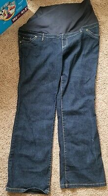 Womens Maternity Jeans sz 16 Preowned