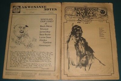 2 AKWESASNE NOTES Mohawk Nation Indian Newspaper~ Spring 1975, Early Autumn 1975