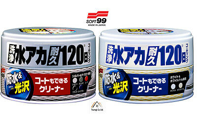 Soft99 Car Automotive Coating Cleaning Wax Protection Repair Repellent JDM 230g