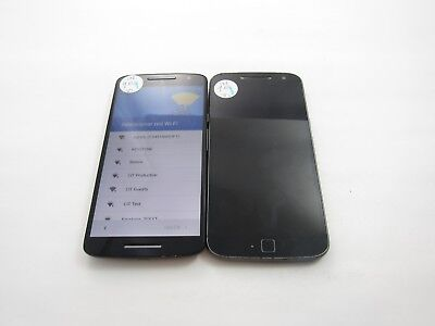 Google Locked Lot of 2 Assorted Motorola Unknown Check IMEI 4GL-972