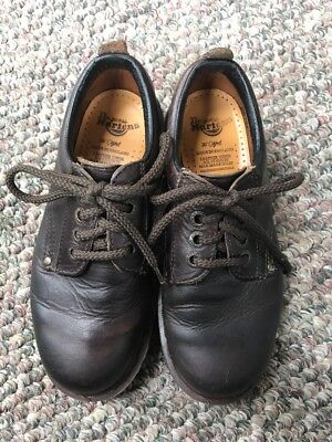 "Dr. Martens ""The Original""  Brown Leather Oxford  (8323) Size 5"