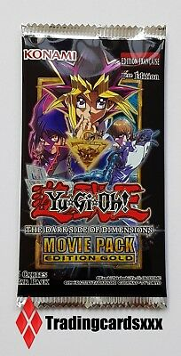♦Yu-Gi-Oh!♦ Booster Movie Pack Edition Gold : The Darkside of Dimensions - VF